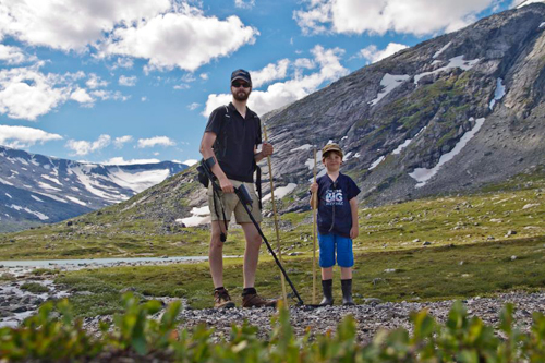 Leiting på Strynefjellet