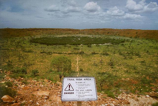 Wolf Creek meteorittkrater